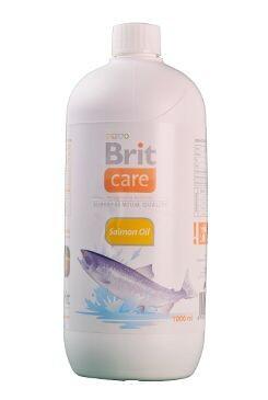 Brit Care lososový olej pes 1l