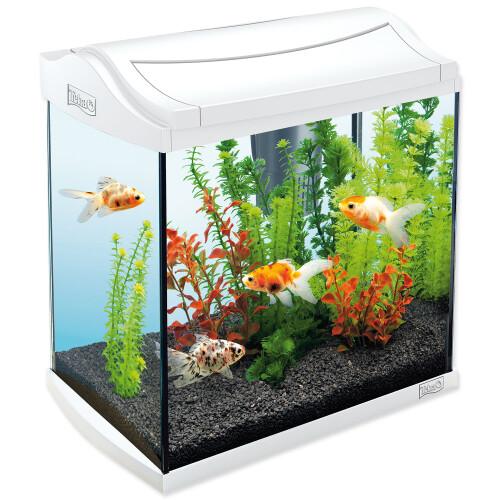 Akvárium set TETRA AquaArt bílé 35 x 25 x 35 cm