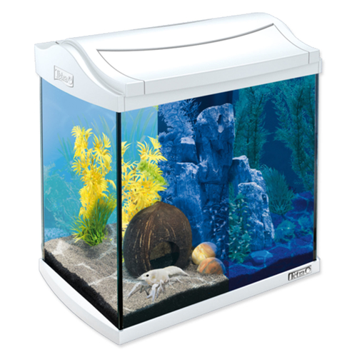 Akvárium set TETRA AquaArt LED bílé 35 x 25 x 35 cm
