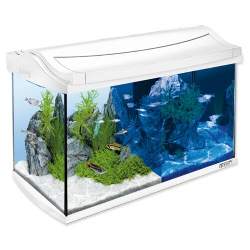 Akvárium set TETRA AquaArt LED bílé 57 x 30 x 35 cm